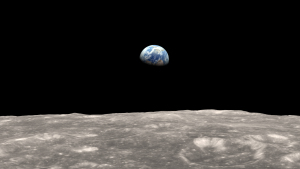 Earth from the Moon [image credit: NASA]
